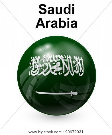 saudi arabia official state flag