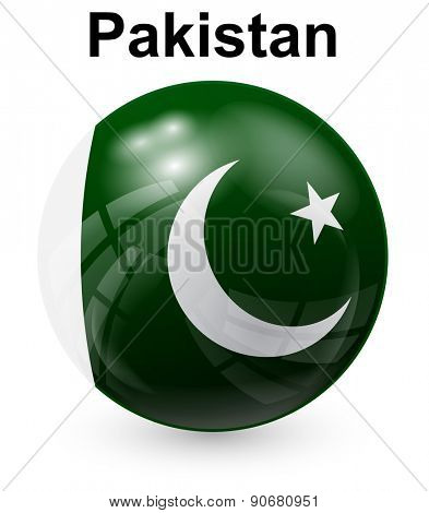 pakistan  official state flag