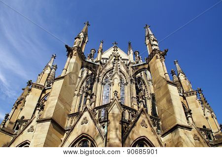 Gothic church detail
