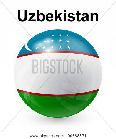 uzbekistan official state flag