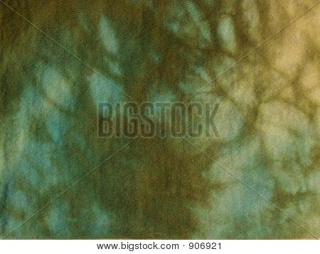 Aqua & Olive Tie-Dye Background