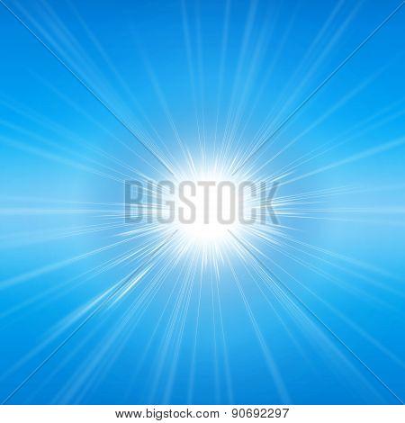 Radiant sunshine