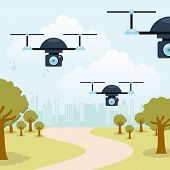 picture of drone  - drone technology design - JPG