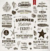 foto of anchor  - Set of Summer Elements - JPG