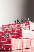 picture of underdog  - Gray toy army men up against impossible odds in uphill battle - JPG