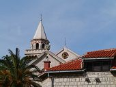 foto of mary  - The parish church of the immaculate conception of the blessed Virgin Mary is a church in late baroque style in Kastel Stafilic in Croatia - JPG