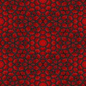 Постер, плакат: Abstract Red Garnet Stone Tile Or Background Made Seamles