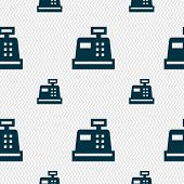 image of cash register  - Cash register icon sign - JPG