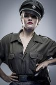 picture of officer  - German officer in World War II - JPG