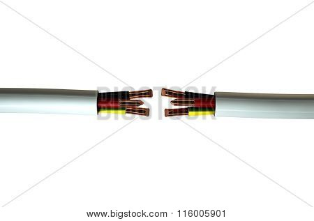 Electrical Cable Cut