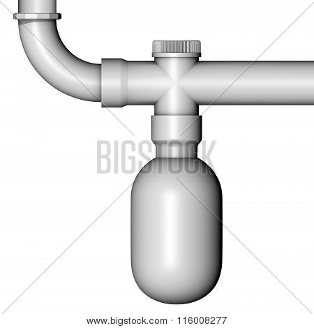 Pipe Drain Water Siphon
