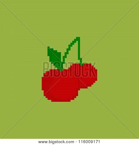 Pixel cherry