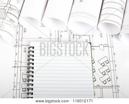 Copy book on blueprint