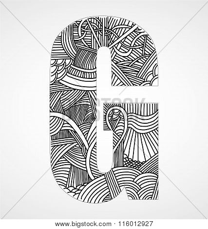 Letter G From Doodle Alphabet.