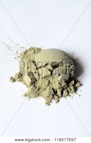 Green Cosmetic Clay Powder