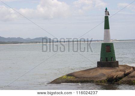 Barra da lagoa Lighthouse - Florianopolis - Santa Catarina - Brazil