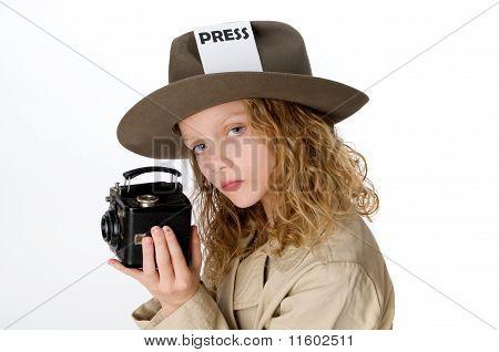 Little Press Girl
