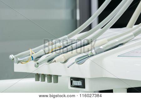Modern Tehnology Dentist Tools.
