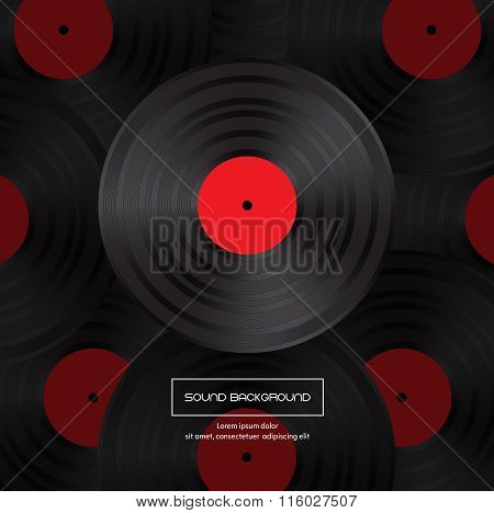 Vinyl Record For Your Design