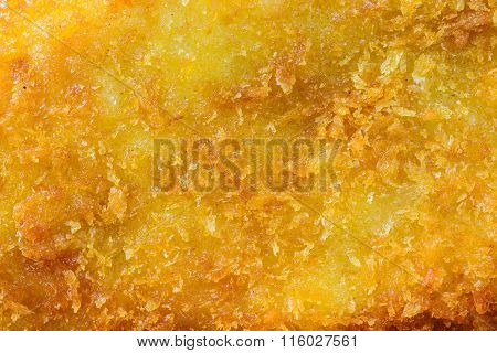 Close Up Of Golden Fried Fish