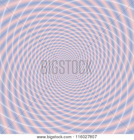 Abstract Crazy Spirals