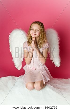 Cute Angel Girl