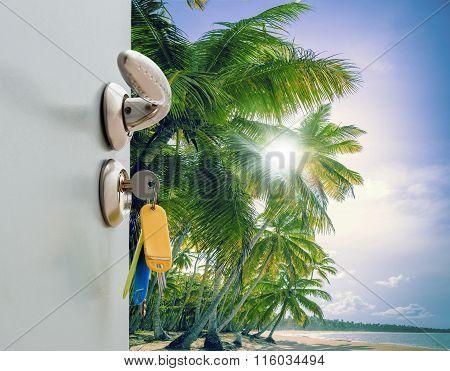 Door Open Palm Beach