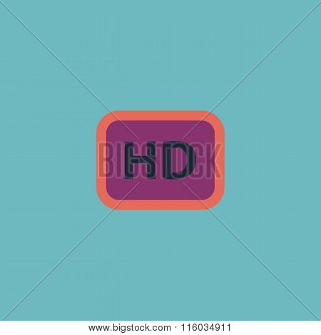 Hd word button