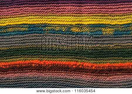 Colorful Knitwear Pattern