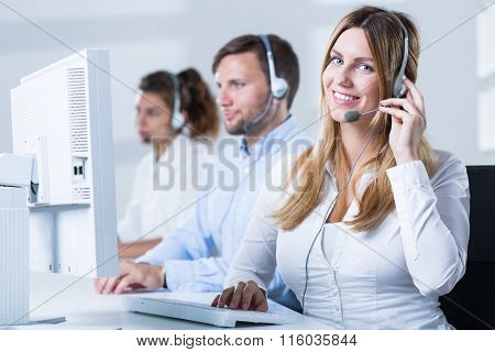 Phone Operator During Work
