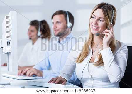 Workers Of Helpdesk Service
