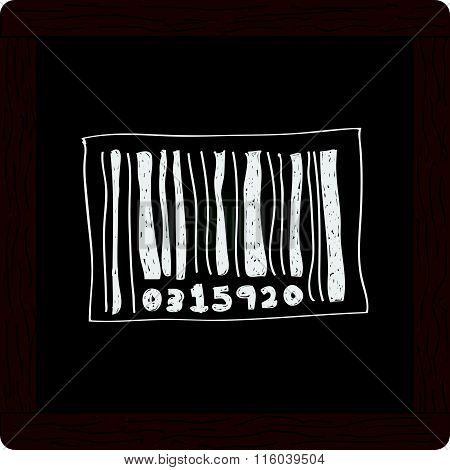 Simple Doodle Of A Barcode