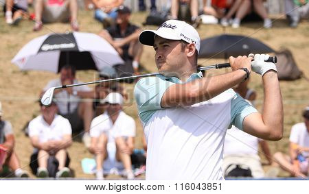 Daniel Brooks At The Golf French Open 2015