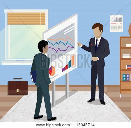 Business Report Isometric