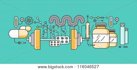 Concept study of human medicine