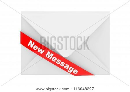 Envelope With New Message Sign