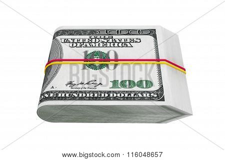 Pack Of Hundred Dollars