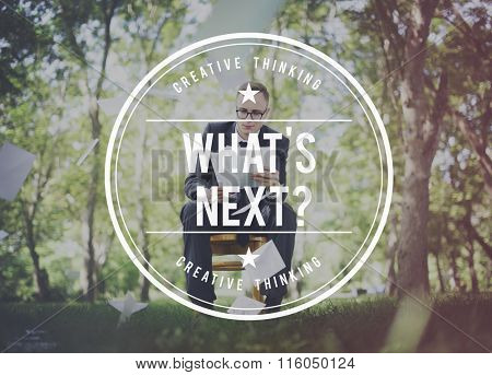 What is Next Continue Change Direction Future Concept
