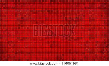 Red Abstract Mosaic Background.eps