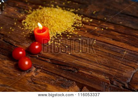 the Raw Bulgur