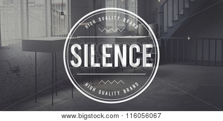 Silence Peaceful Tranquil Quietness Still Silent Concept