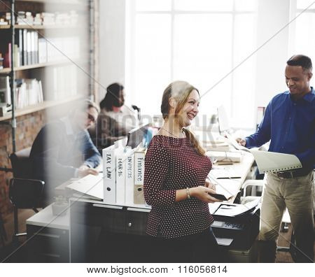 Collaboration Communication Togetherness Office Concept