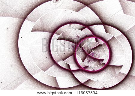 abstract fractal background, circles