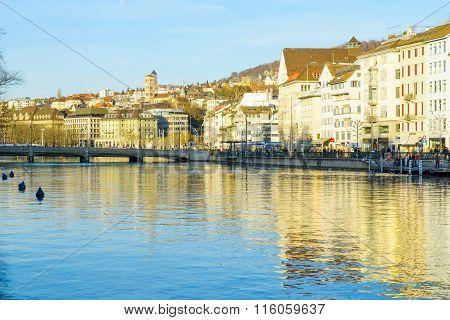 Zurich Old Town (altstadt)