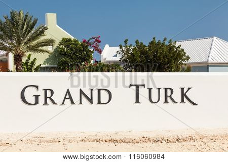 Entrance To Grand Turk, Turks & Caicos Islands