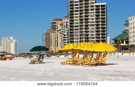 Beach In Destin, Florida
