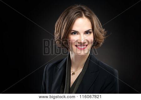 Pretty Model Corporate Headshot