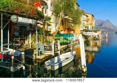 Gandria, On Lake Lugano