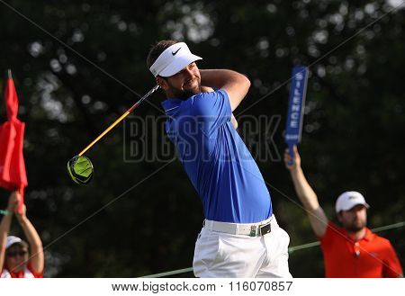 Scott Jamieson At The Golf French Open 2015