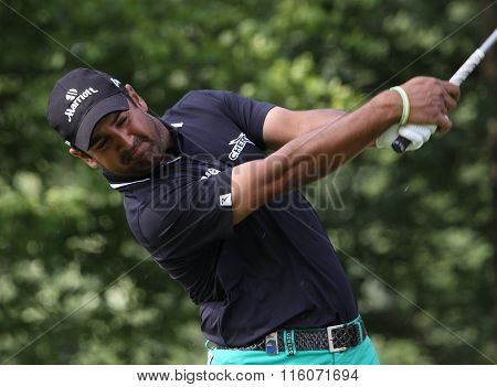 Shiv Kapur At The Golf French Open 2015
